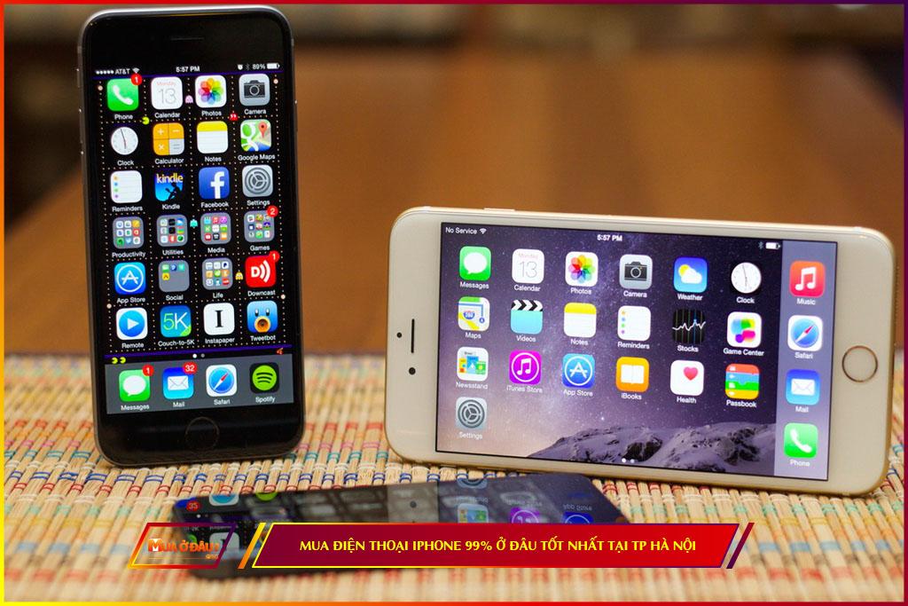 Mua điện thoại Iphone 99% ở đâu tốt nhất tại Hà Nội
