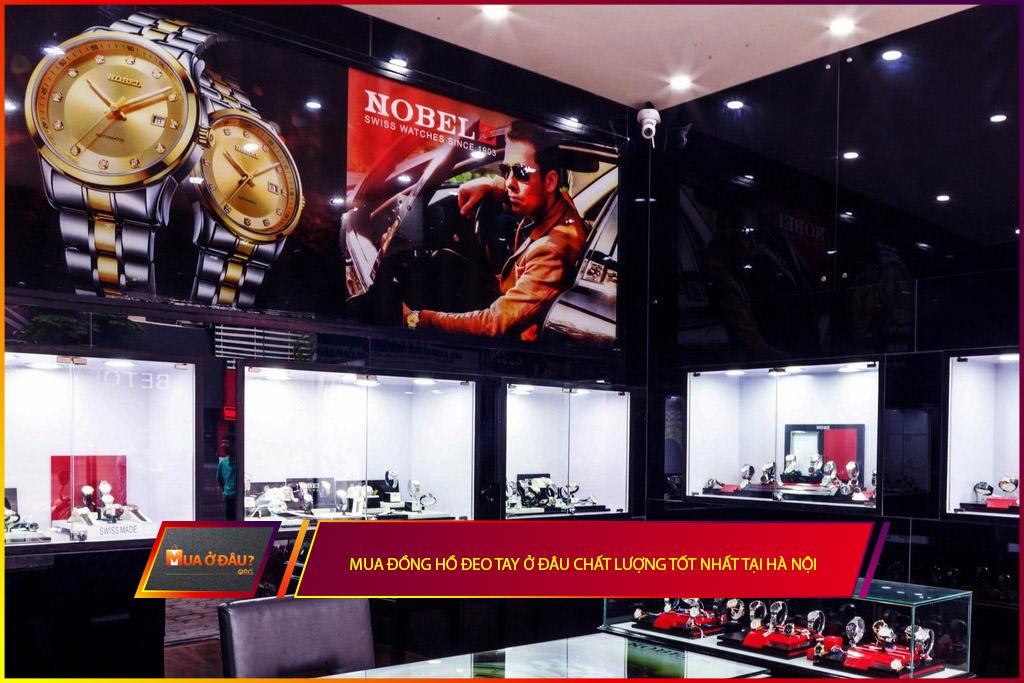 Mua đồng hồ đeo tay ở đâu tốt nhất tại Hà Nội