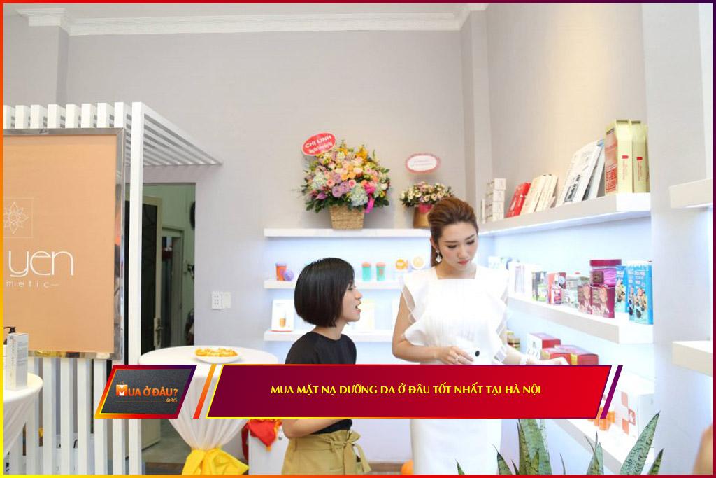 Mua mặt nạ dưỡng da ở đâu chất lượng nhất tại Hà Nội