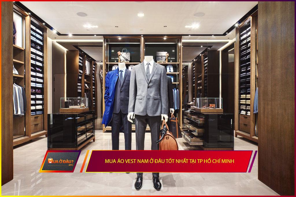 Mua áo vest nam ở đâu tốt nhất tại TP Hồ Chí Minh