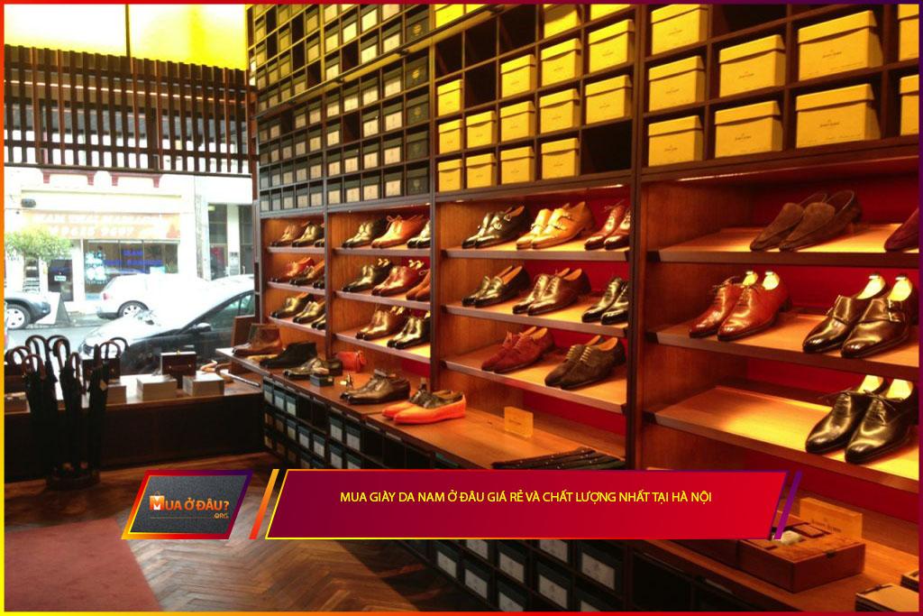 Mua giày da nam ở đâu giá rẻ và chất lượng nhất tại Hà Nội?