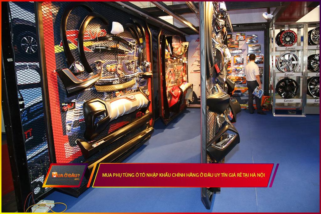 Mua phụ tùng ô tô nhập khẩu chính hãng ở đâu uy tín giá rẻ tại Hà Nội?