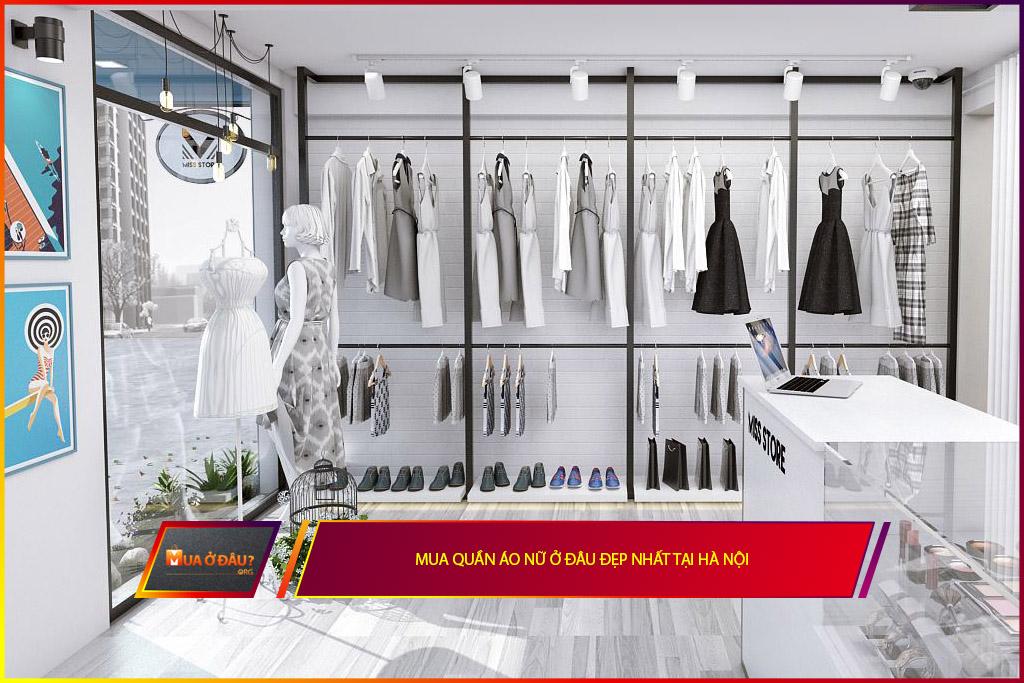 Mua quần áo nữ ở đâu đẹp nhất tại Hà Nội