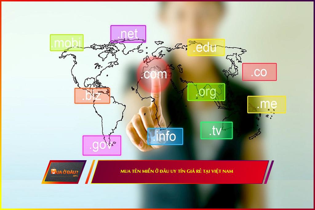 Đơn vị cung cấp tên miền uy tín giá rẻ tại Việt Nam