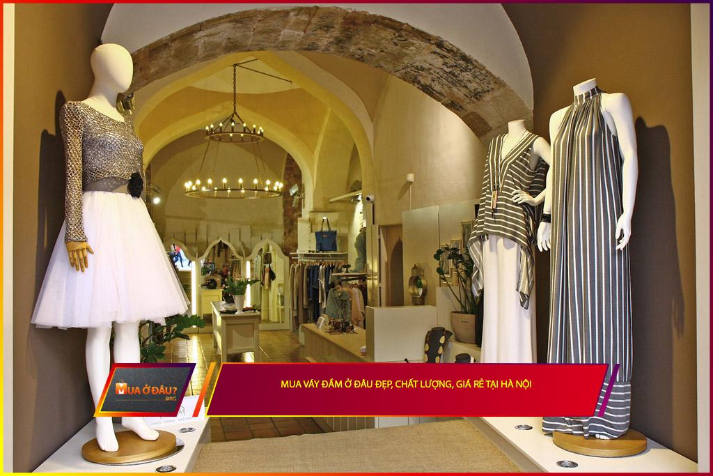 Mua váy đầm ở đâu đẹp, chất lượng, giá rẻ tại Hà Nội?