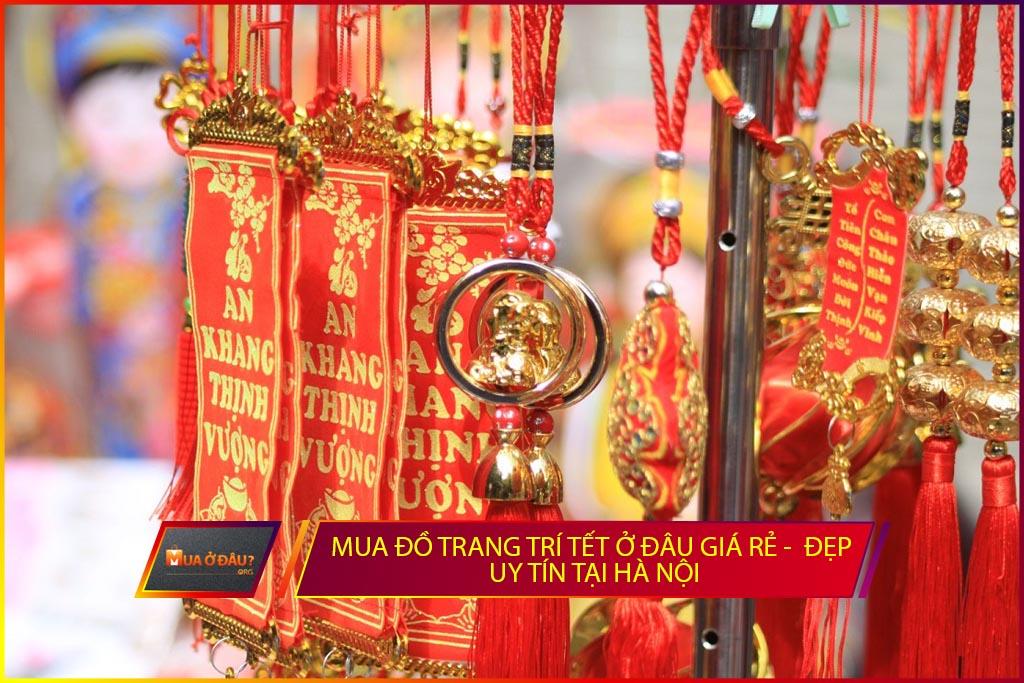 Mua đồ trang trí tết tại Hà Nội
